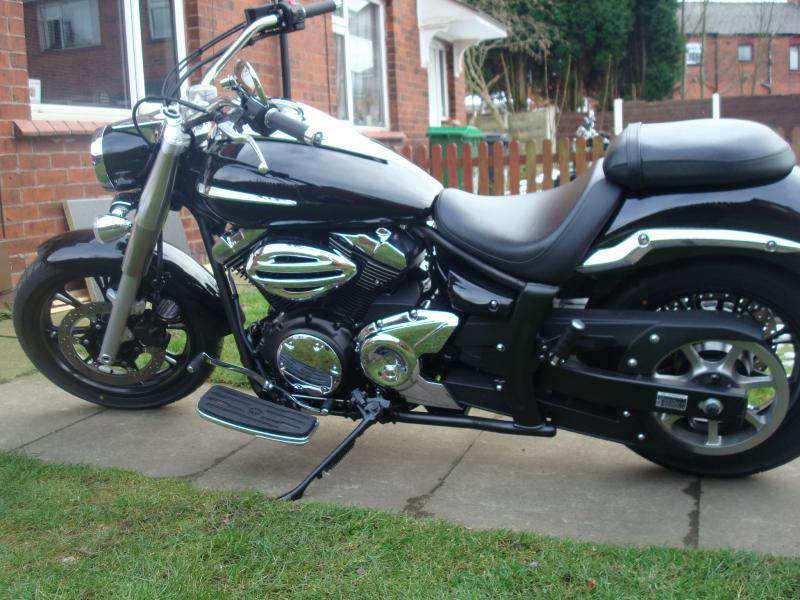 Lucian, my 2009 XVS950 Midnight Star