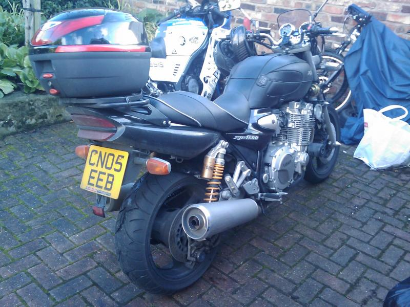 Only 1 bike left now... XJR 1300!
