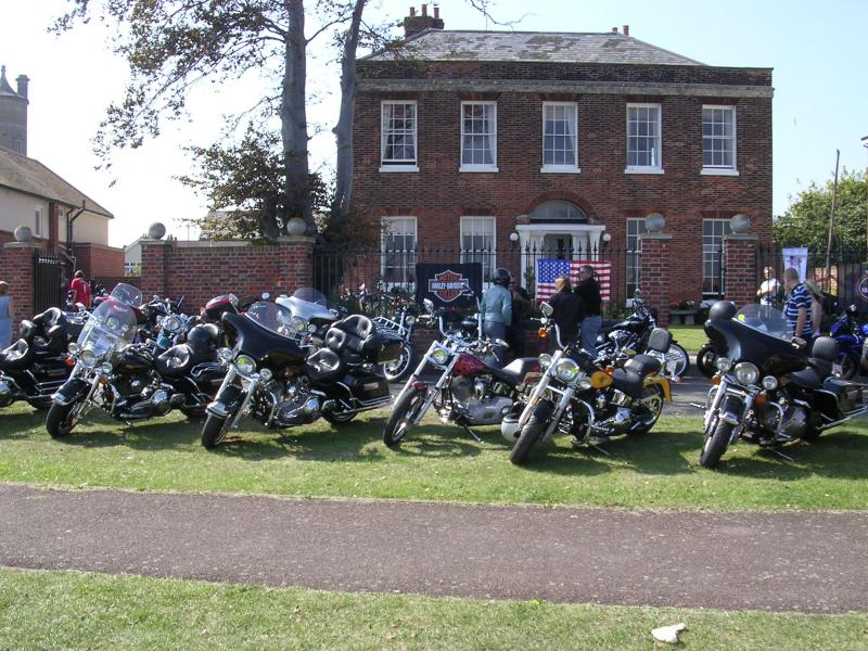 Dunton to Harwich ride 2005